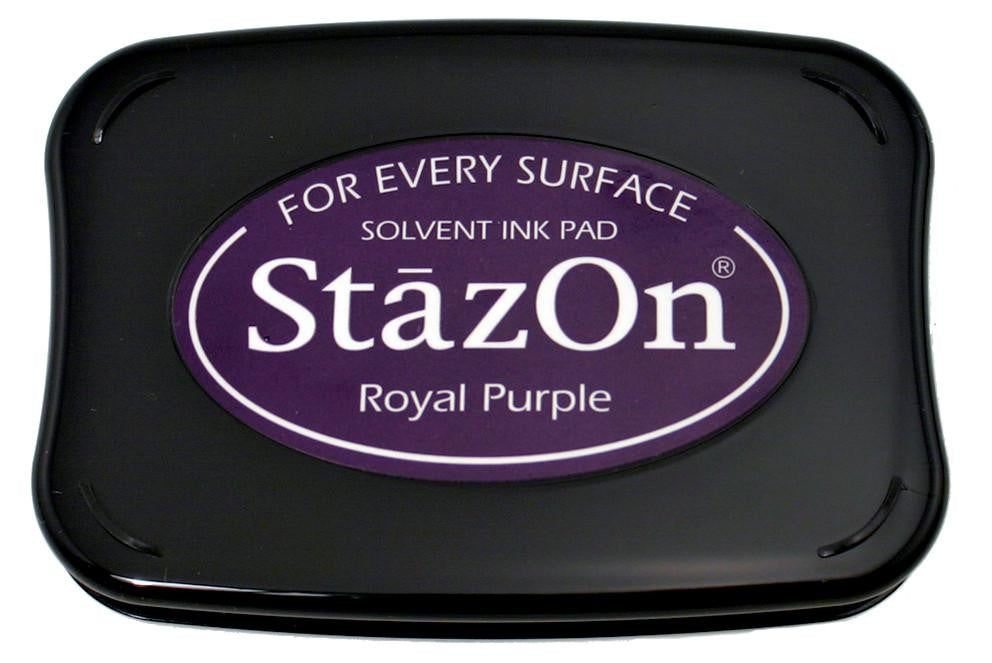 Stazon Permanent - Royal Purple - Stamptopia