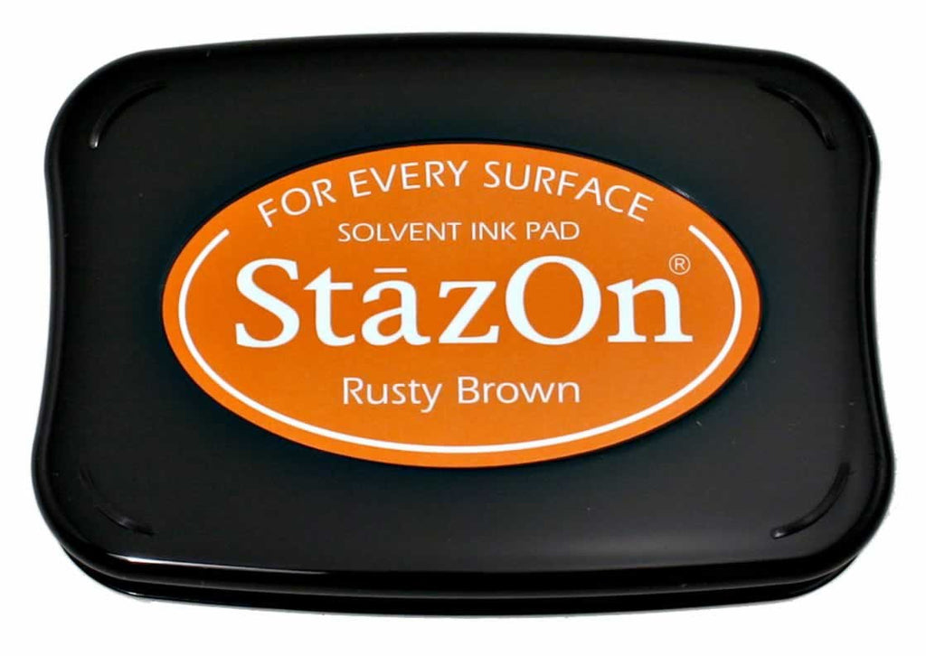 Stazon Permanent - Rusty Brown - Stamptopia