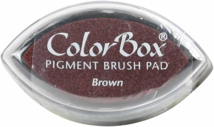 Vibrant Pigment Mini - Brown - Stamptopia