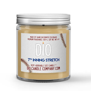 7th Inning Stretch Candle Grass - Dirt - Baseball Bat Scented - Dio Candle Company