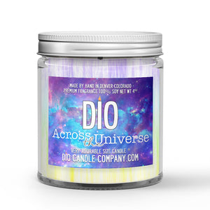Across The Universe Candle White Tea - Green Tea Scented - Dio Candle Company