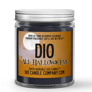 All Hallows Eve Candle - Ginger - Pumpkin - 8oz Super Adorable Size Candle® - Dio Candle Company