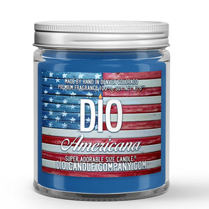 Americana Candle Green Apples – Cinnamon – Flakey Crust Scented - Dio Candle Company