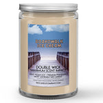 Boardwalk Ice Cream Candle Salty Sea Breeze - Ice Cream Scented - Dio Candle Company