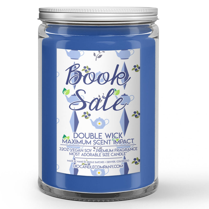 Book Sale Candles and Wax Melts