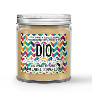 Book at the Beach Candle - Books - Sunshine - Beach Waves - 4oz Very Adorable Size Candle® - Dio Candle Company