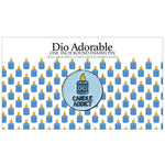 "Dio Adorable Candle Addict 1"" Round Enamel Pin  Scented - Dio Candle Company"