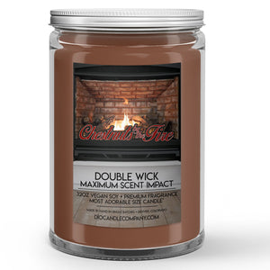 Chestnuts by the Fire Candles and Wax Melts