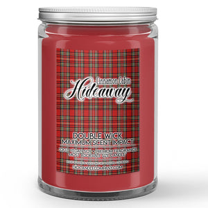 Cinnamon Cabin Hideaway Candles and Wax Melts