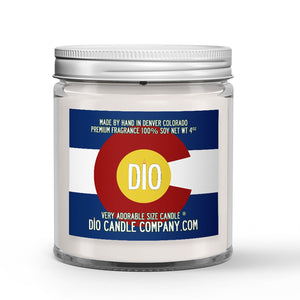 Colorado Pride Candle - Evergreens - Pine Needles - Open Sky - Mountain Breeze - 4oz Very Adorable Size Candle® - Dio Candle Company