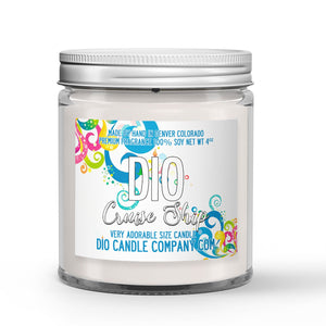 Cruise Ship Candle - State Room - Salty Ocean Air - 4oz Very Adorable Size Candle® - Dio Candle Company