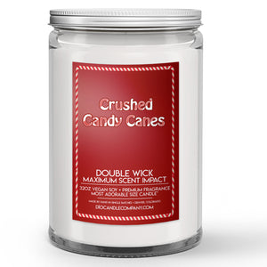 Crushed Candy Canes Candles and Wax Melts