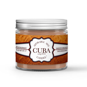 Cuban Tobacco - Humidor - Cherry - Clove Scented - Cuban Tobacco Candle - 1 oz - Dio Candle Company