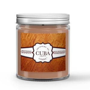 Cuban Tobacco - Humidor - Cherry - Clove Scented - Cuban Tobacco Candle - 4 oz - Dio Candle Company
