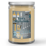 Father's Day Dad's Workshop Candle Sawdust - Plywood Scented - Dio Candle Company
