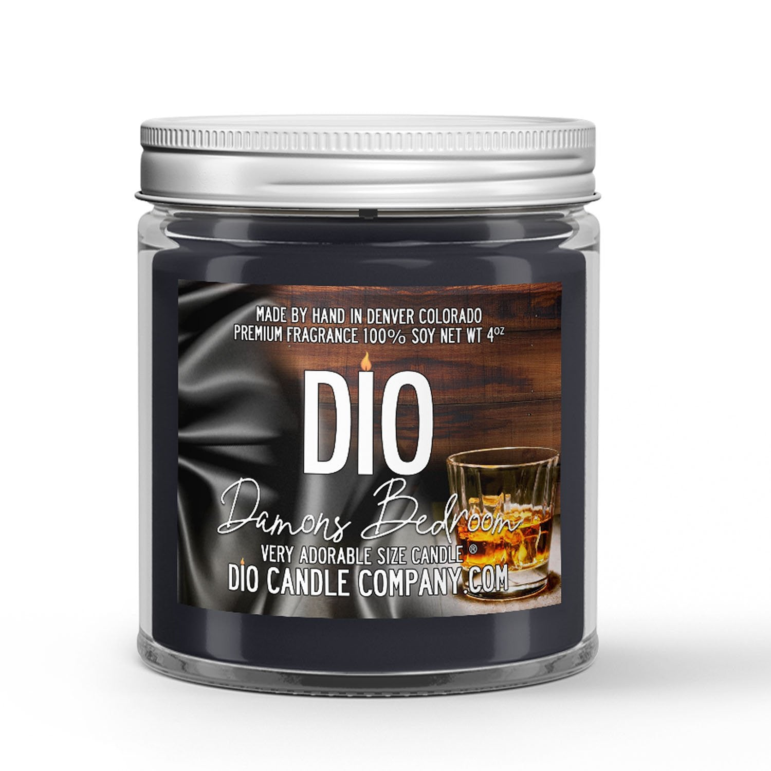 Damon's Bedroom Candle Whiskey - Woods - Cologne Scented - Dio Candle Company