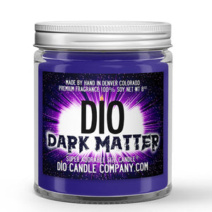 Dark Matter Candle - Jasmine - Cedar Wood - Moss - 8oz Super Adorable Size Candle® - Dio Candle Company