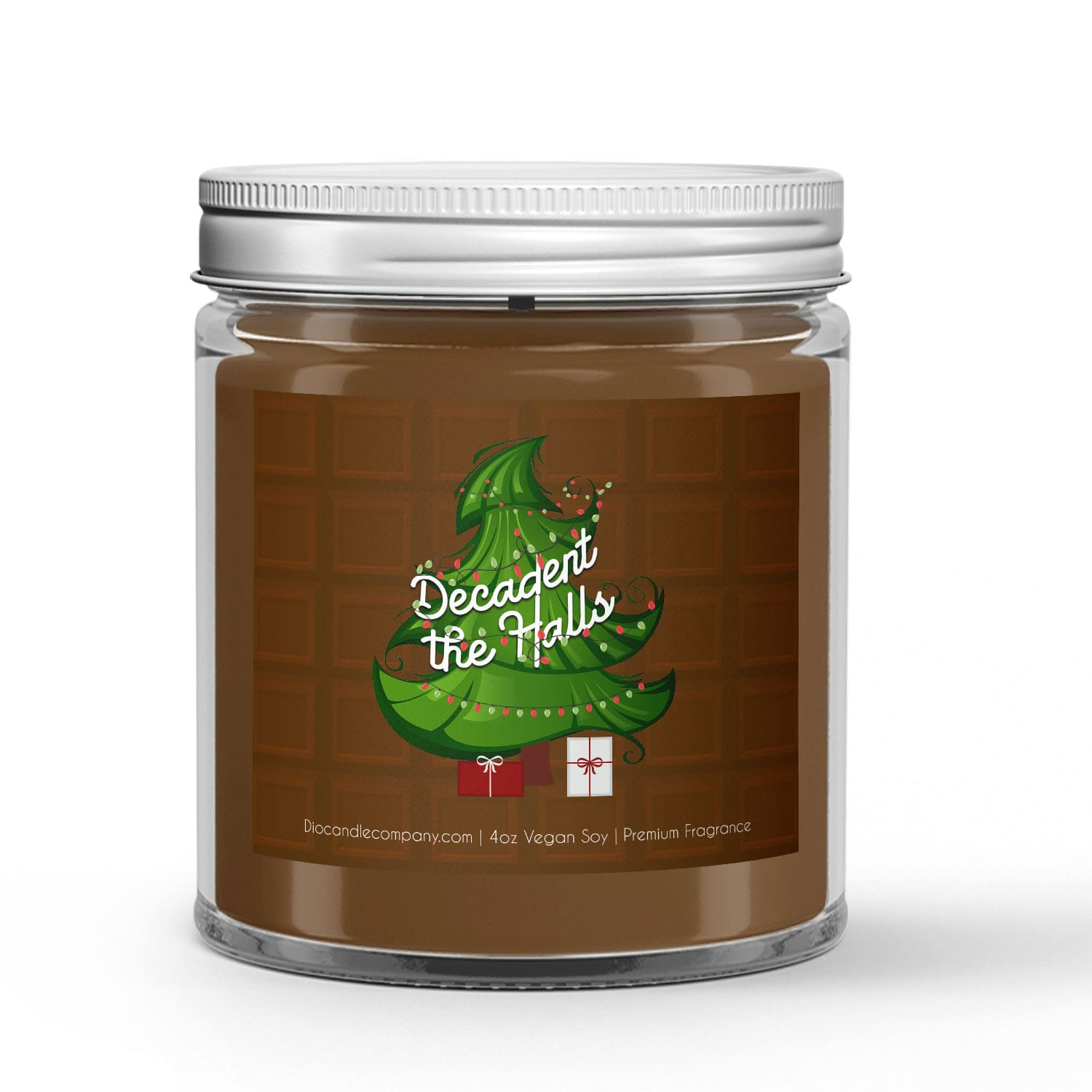 Decadent the Halls Christmas Candle