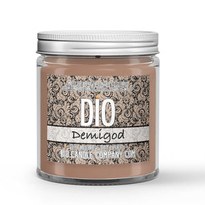 Demigod Candle Cologne - Driftwood - White Tea Scented - Dio Candle Company