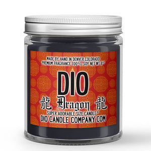 Rich Sandalwood Scented - Dragon Candle - 8 oz - Dio Candle Company