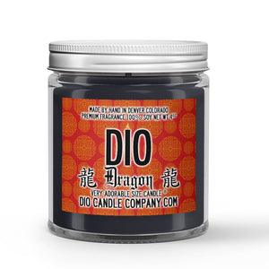 Rich Sandalwood Scented - Dragon Candle - 4 oz - Dio Candle Company