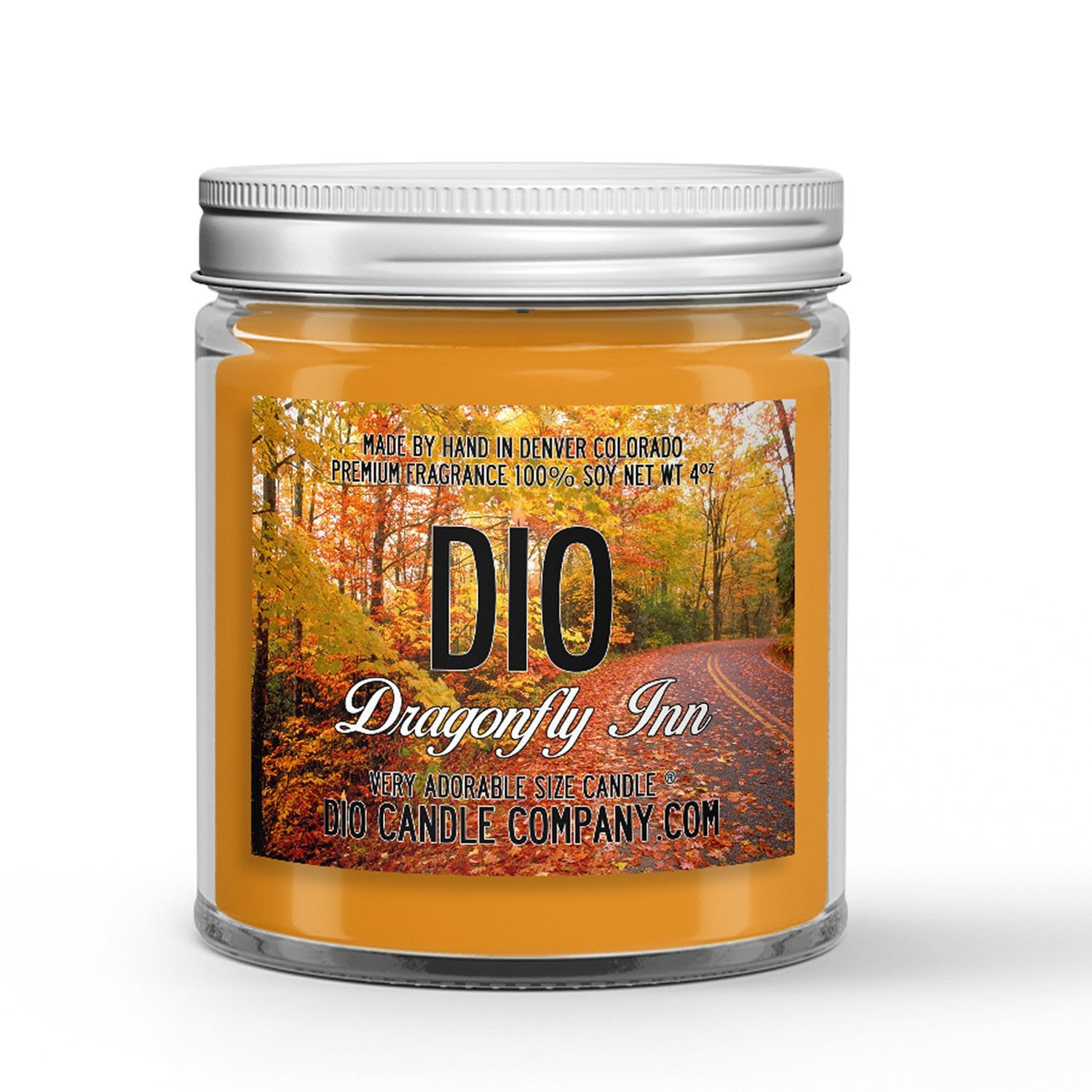 Dragonfly Inn Candle - Apples - Cinnamon - Fresh Baked Pies - 4oz Very Adorable Size Candle® - Dio Candle Company