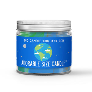 Planet Earth Candle - Soil - 1oz Adorable Size Candle® - Dio Candle Company