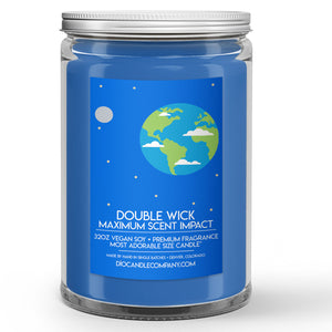 Planet Earth Candle Soil Scented - Dio Candle Company