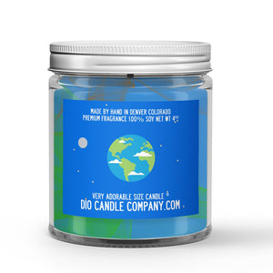 Planet Earth Candle - Soil - 4oz Very Adorable Size Candle® - Dio Candle Company