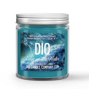 Edge of the Water Candle - Tropical Fruit - Fresh Ocean Breeze - 4oz Very Adorable Size Candle® - Dio Candle Company