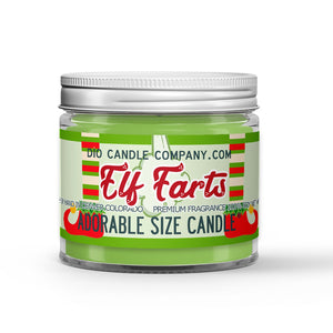 Elf Farts Candle - Christmas Sugar Cookies - 1oz Adorable Size Candle® - Dio Candle Company