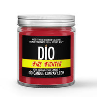 Fire Fighter Candle