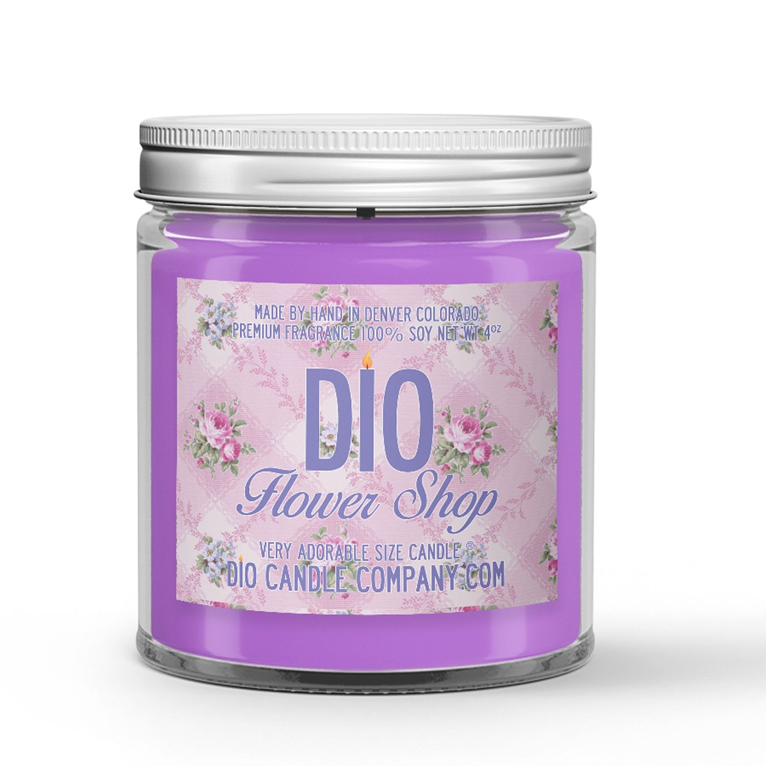 Flower Shop Mother's Day Candle Lilac - Wildflower Scented - Dio Candle Company