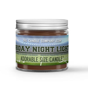 Grass Field - Night Air Scented - Friday Night Lights Candle - 1 oz - Dio Candle Company