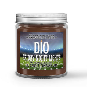 Grass Field - Night Air Scented - Friday Night Lights Candle - 4 oz - Dio Candle Company