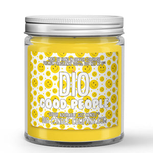 Cinnamon - Butter - Powdered Sugar Scented - Good People Candle - 8 oz - Dio Candle Company