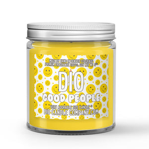 Good People Candle Cinnamon - Butter - Sugar Scented - Dio Candle Company