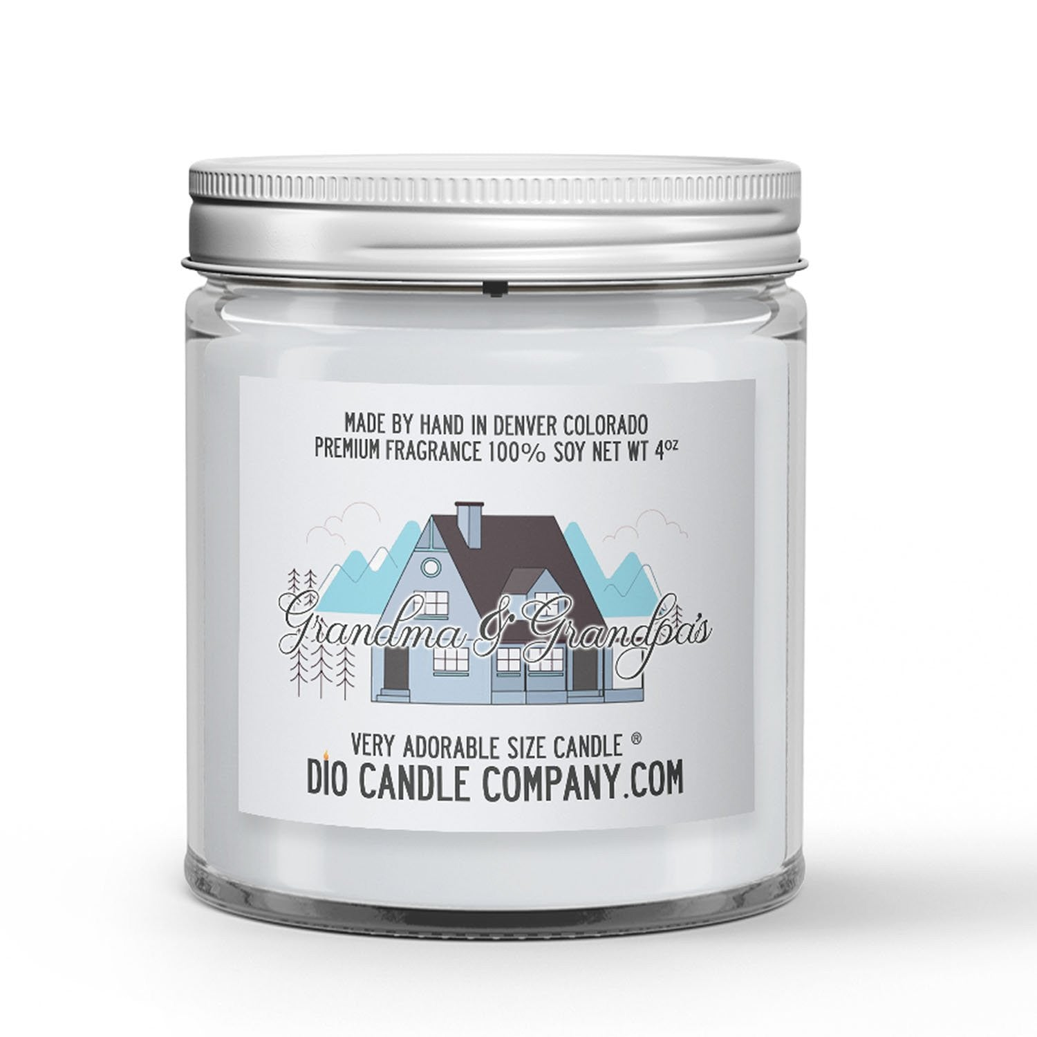 Grandparents House Candle Bar Soap - Aftershave Scented - Dio Candle Company
