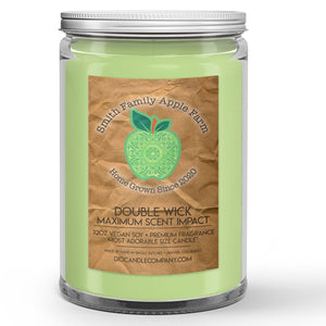 Apple Farm Candle Tart Green Apple Scented - Dio Candle Company
