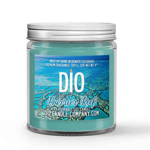 Great Barrier Reef Candle Pineapple - Coral Reef Scented - Dio Candle Company