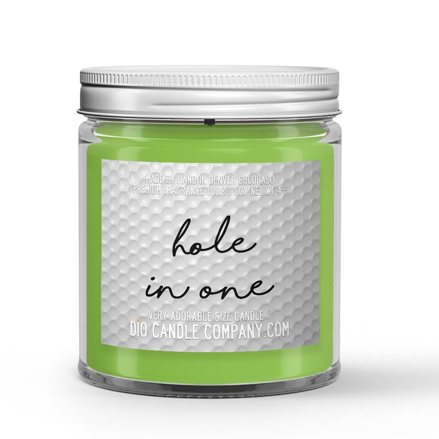 Hole in One Golf Candle - Fresh Air - Green Grass - Wind - 4oz Very Adorable Size Candle® - Dio Candle Company