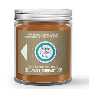 Home Cooked Meal Candle Sweet Potato - Savory Spices Scented - Dio Candle Company
