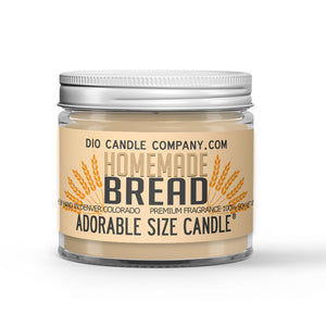Freshly Baked Crusty Loaf Scented - Homemade Bread Candle - 1 oz - Dio Candle Company
