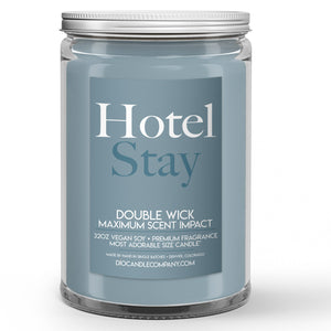 Hotel Stay Candle Fancy Linens Scented - Dio Candle Company