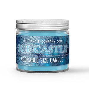 Ice Castle Candle Snow - Ice - Spiced Carrot Scented - Dio Candle Company