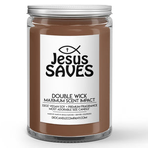 Jesus Saves Candles and Wax Melts