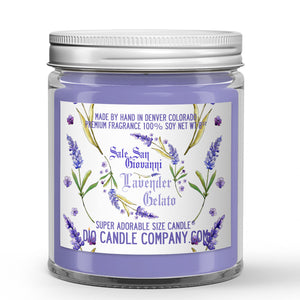Italian Lavender Gelato Candles and Wax Melts