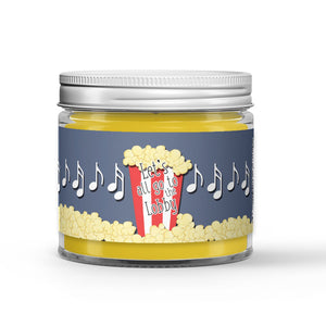 Vanilla - Popcorn - Caramel Scented - Let's All Go the Lobby Movie Candle - 1 oz - Dio Candle Company