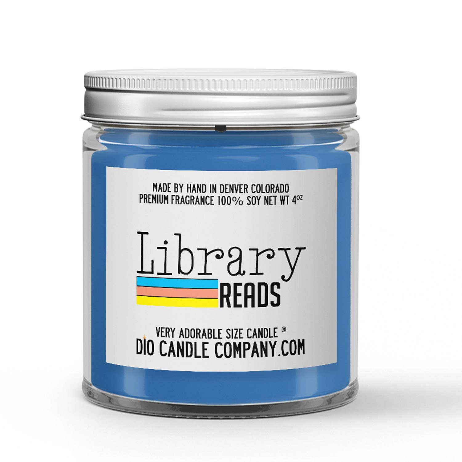 Library Reads Candle - Library Books - Spot of Tea - 4oz Very Adorable Size Candle® - Dio Candle Company