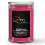 Love is Love Candle Sugar Sweet Cereal Scented - Dio Candle Company